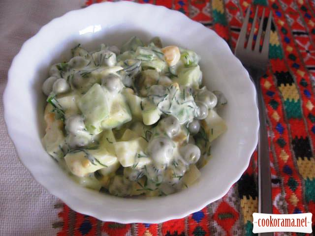 Салат із авокадо