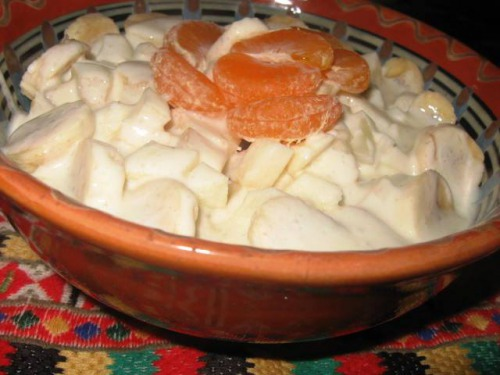 Новорічний салат (фруктовий)