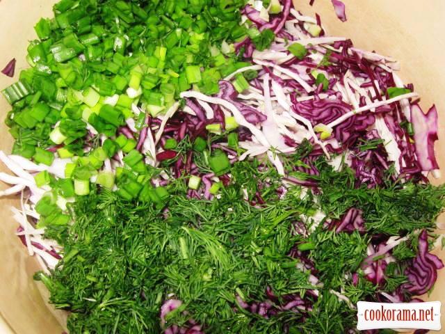 Salad «Coleslaw»