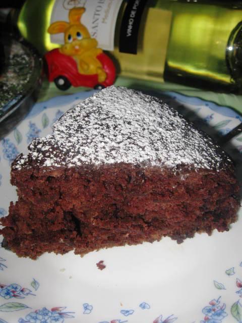 """Шоколадний пиріг """"Все в одній формі"""""""