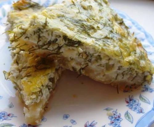 Сирний пиріг або фальшиве хачапурі