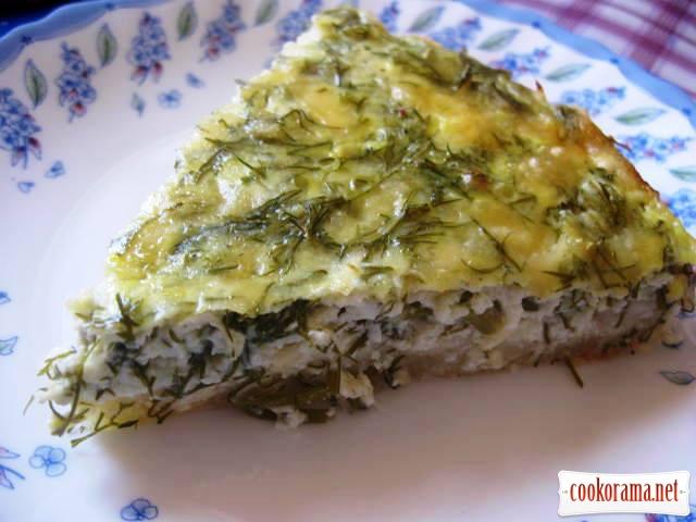Сырный пирог или фальшивое хачапури