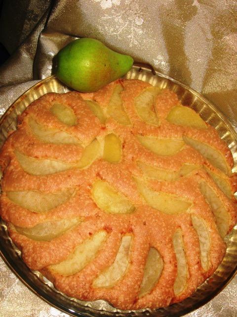 Пиріг з грушами