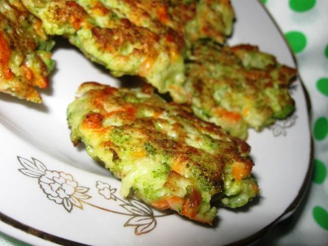 Оладки з броколі