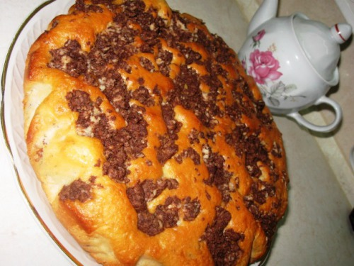 Пышный кекс на кефире