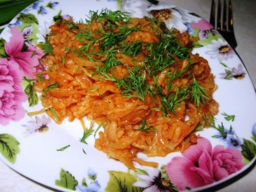 Овочевий плов по-грецьки
