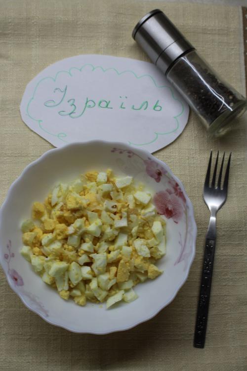 Рубані яйця з цибулею або Яйця по-єврейськи