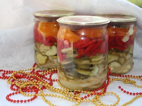 Салат з овочів на зиму