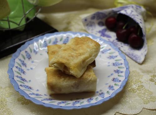 Пиріжки з лаваша з яблуками