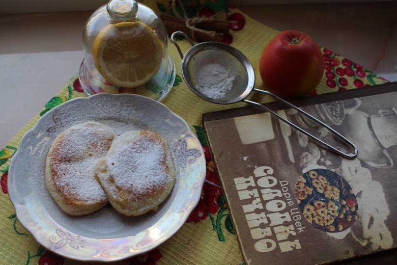 Млинці  з яблуками (Дарія Цвек)