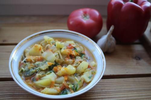 Овочеве рагу з кабачками
