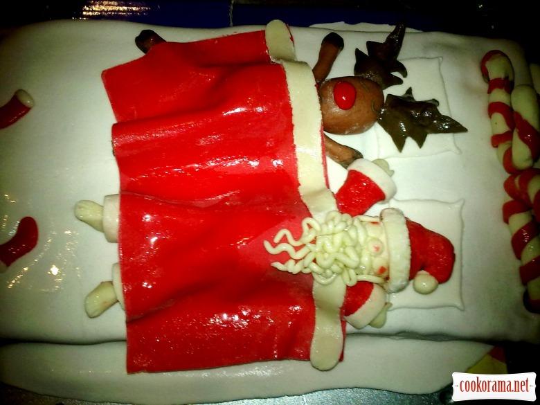 Торт «Новорічний»