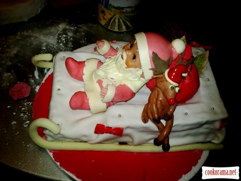 Торт «Дід Мороз»