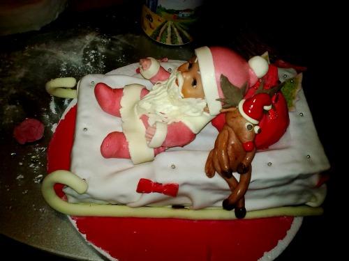 """Торт """"Дід Мороз"""""""