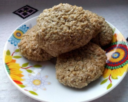 Соняшникове печиво без борошна (безглютенове)