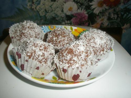 Домашні цукерки Малютка