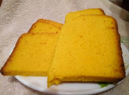Гарбузово-кукурудзяний кекс Дари осені  (безглютеновий, дієтичний)