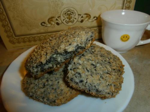 Кунжутне чорно-біле печиво
