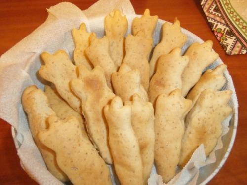 Галетне печиво на бульйоні  Зубчик
