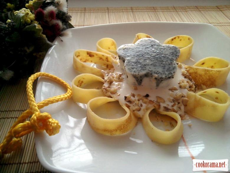 Десерт «Соняшник»