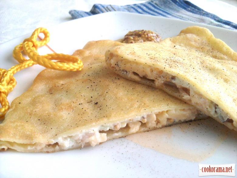 Млинцеві сендвічі «Крок-мадам» та «Крок-месьє»