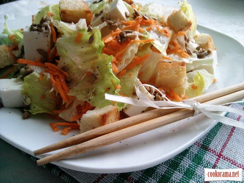 Салат «Вітамінна свіжість» з тофу