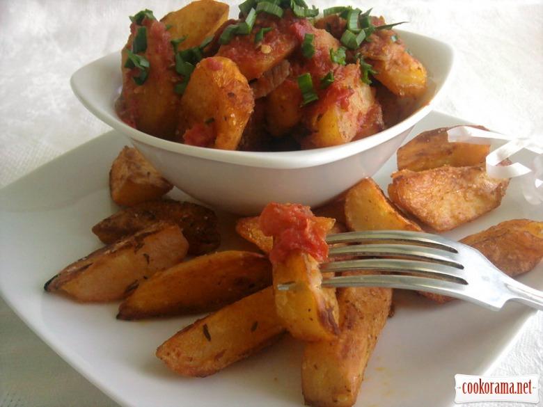 Пряна картопелька по-іспанськи