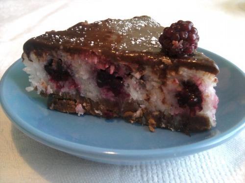 Шоколадно-кокосовий тортик без випічки