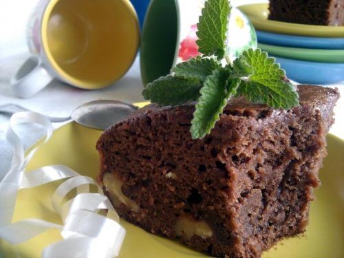 Шоколадно-кавові брауні