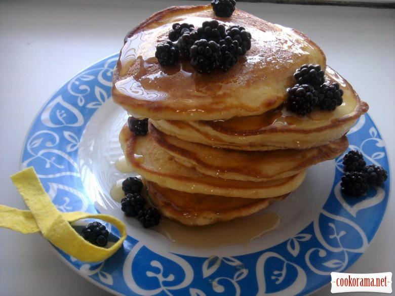 Американські млинці до сніданку