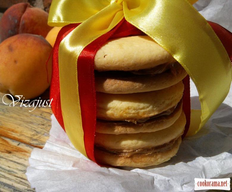 Печиво «Альфахорес» з карамеллю дульче-де-лече