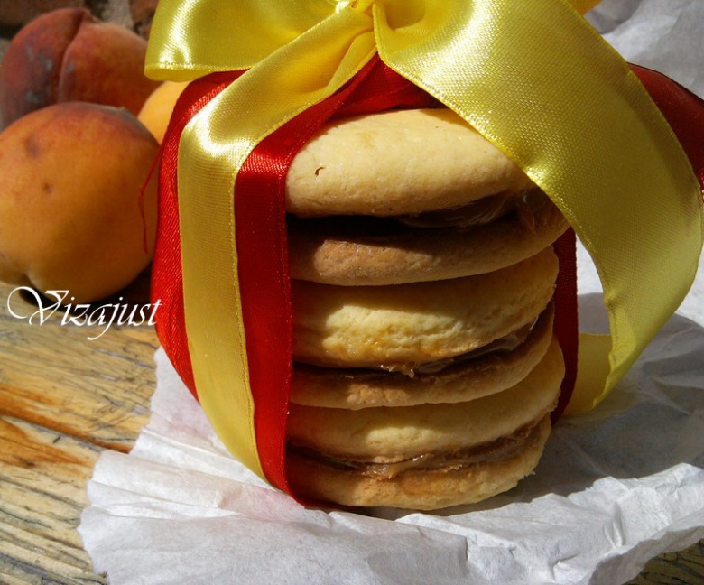 "Печиво ""Альфахорес"" з карамеллю дульче-де-лече"