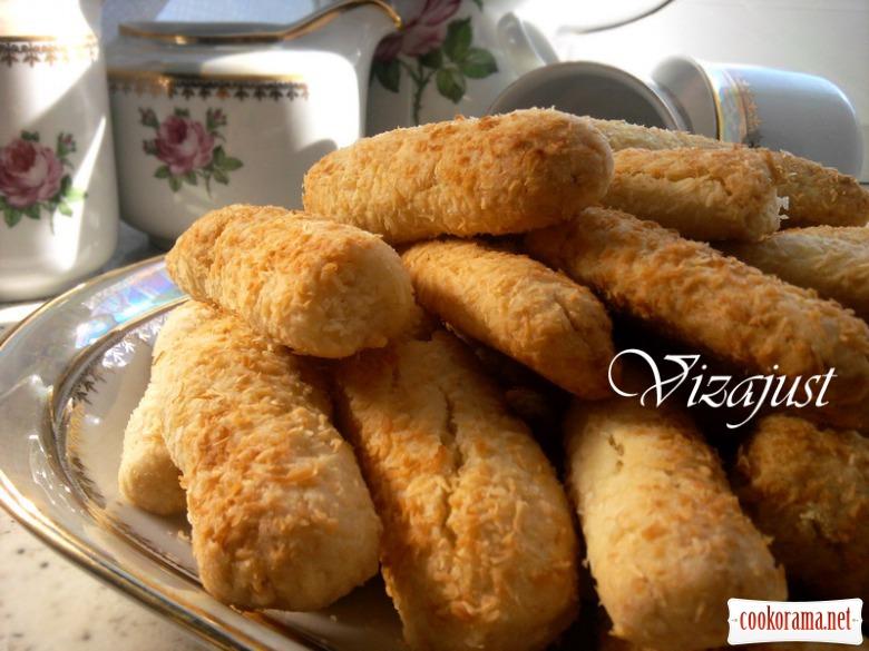 Кокосово-імбирне печиво