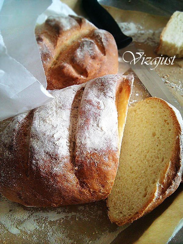 Хлеб на смальце и с медом