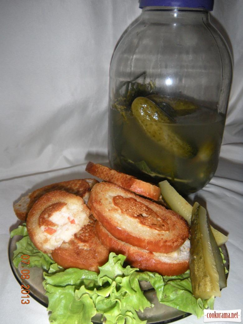 Рибні бутербродики