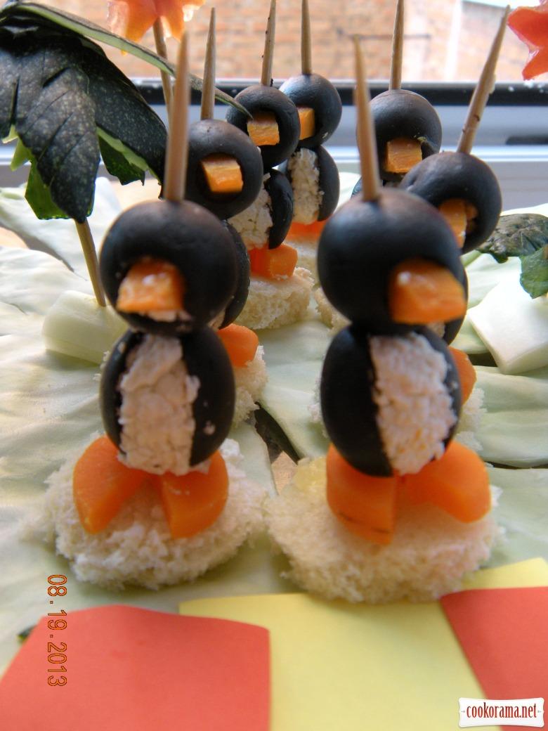 Тапас «Пінгвіни Мадагаскару»