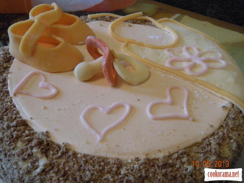 Тортик для Полінки