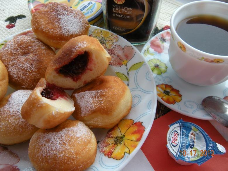 Paczki - польські пончики. Польські дні в сім'ї Удовенко (сніданок)