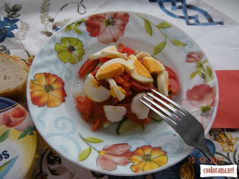 Салат «Польський». Польські дні в сім'ї Удовенко (вечеря)