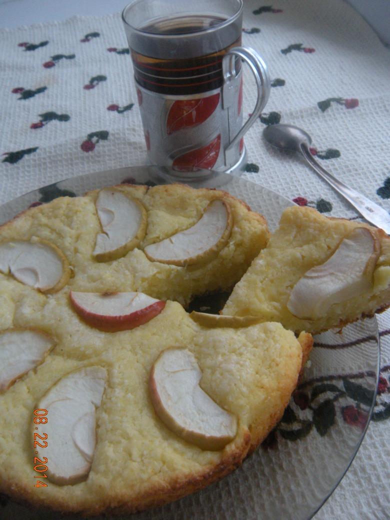 Яблучно-кокосовий тарт