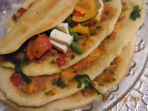 """Турецька піца """"Лахмаджун"""""""