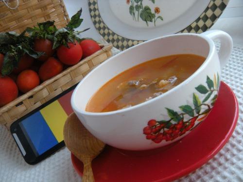 Чорба (з томатами)