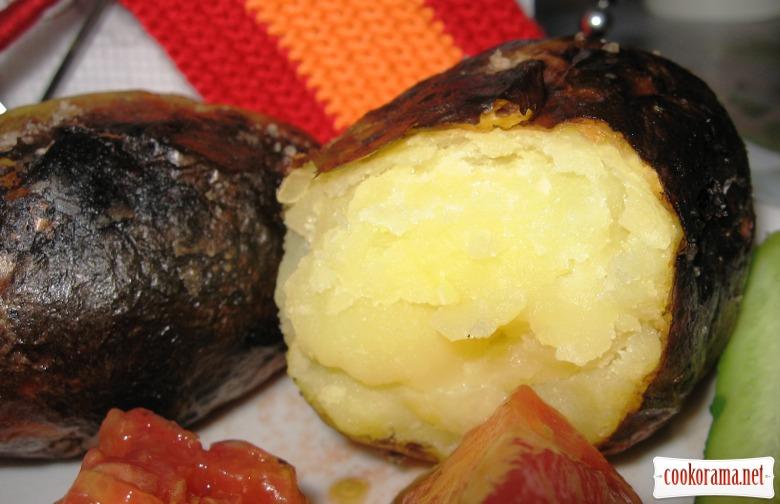 Запеченный картофель по испански