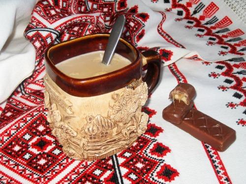 Пікантна кава з сиром