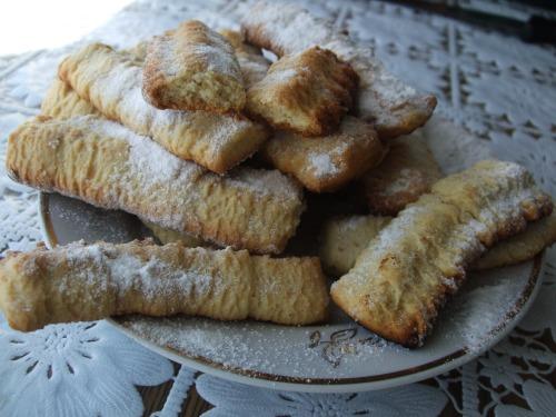 Печиво на мелених шкварках