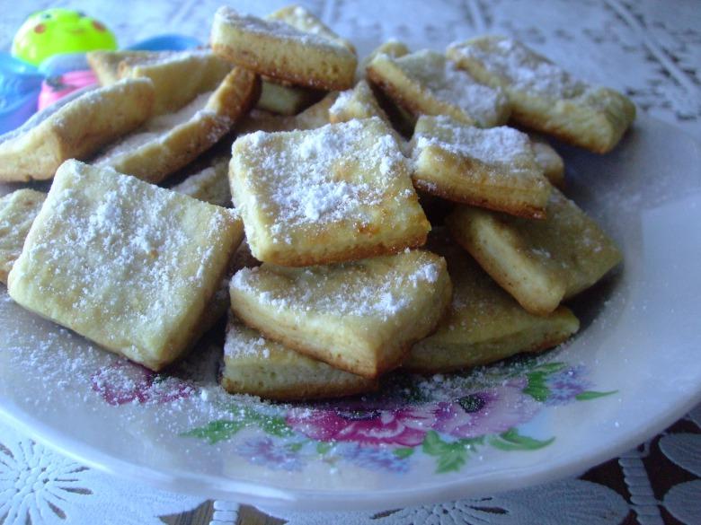 Печенье на молочной пене
