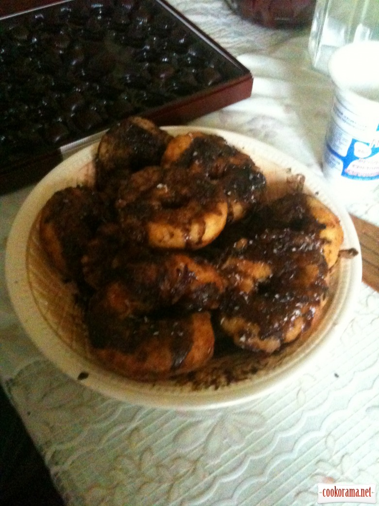 Сирні пончики