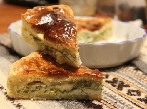 Базовий рецепт несолодкого тіста для пирога + ідея начинки