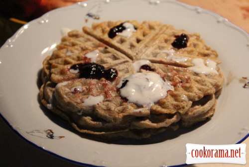 Wholegrain waffles