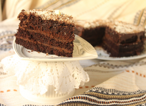 The easiest chocolate cake